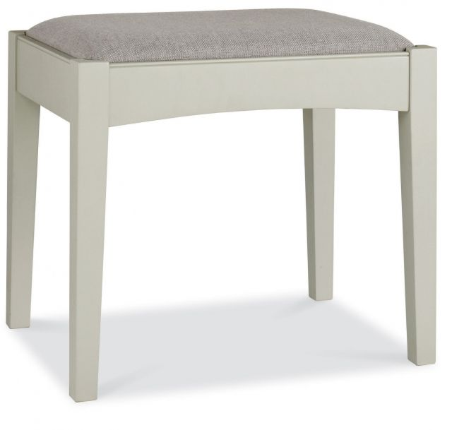 Fairford Soft Grey & Pale Oak Stool