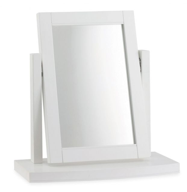 Fairford White Vanity Mirror