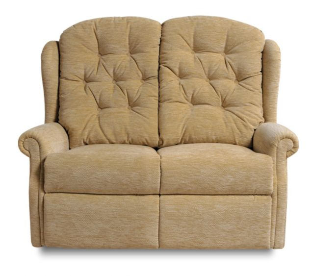 Woburn Standard Fixed 2 Seat Settee Fabric
