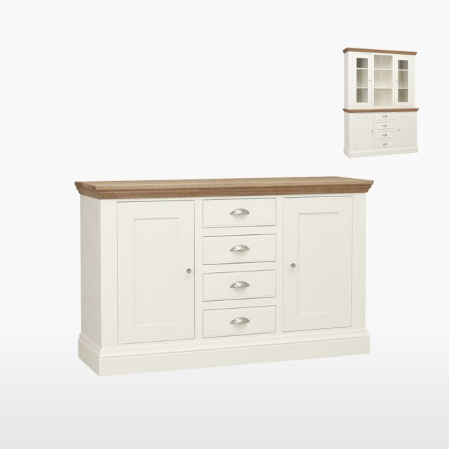 Coelo - Medium Centre Drawer Dresser Base