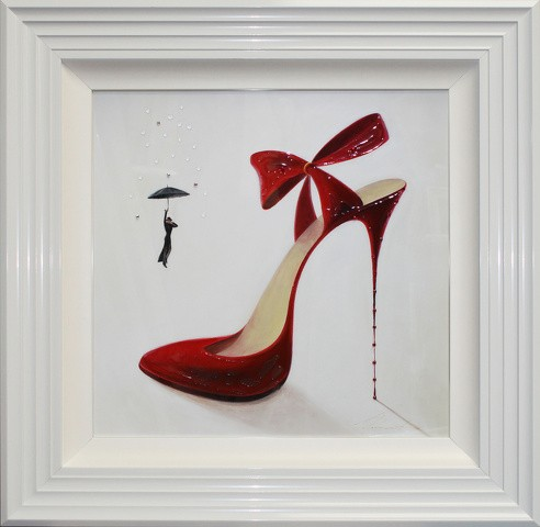 High Heels Obsession Liquid Art