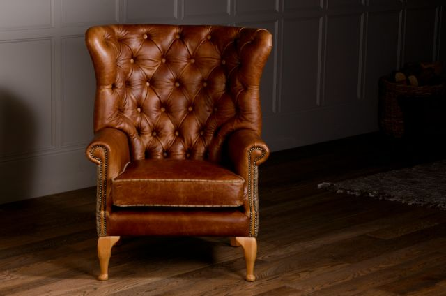 Wing Wrap Chair Standard Leather