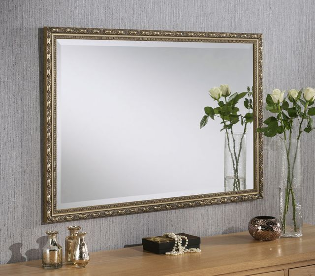 "1637 Gold 27"" X 21"" Bevel (69Cm X 53cm) Mirror"