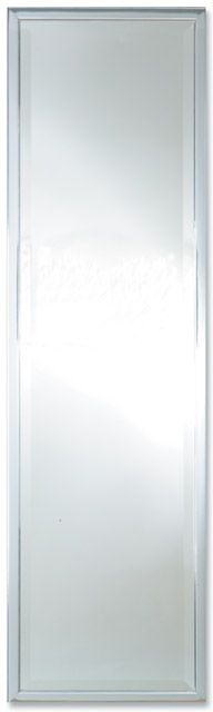 "1"" Chrome 46"" X 13"" Bevel (117cm X 33cm) Mirror"