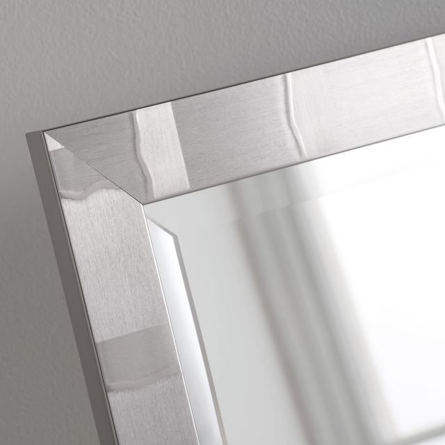 "2"" Manhattan Silver 40"" X 28"" Bevel (102cm X 71cm) Mirror"