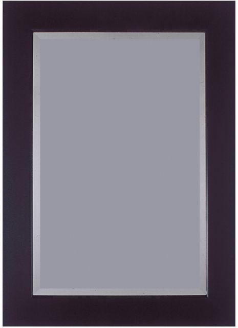 "3""Black 46"" X 36"" Bevel (117cm X 91cm) Mirror"