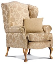 Kensington Chair - Light Oak Legs Elegance Fabric