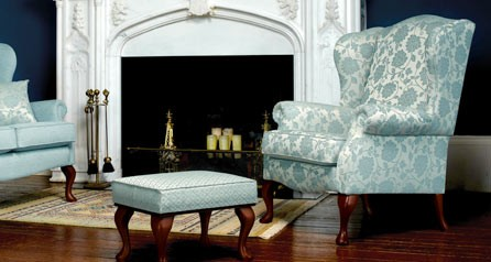 Kensington Chair - Dark Beech Legs Elegance Fabric
