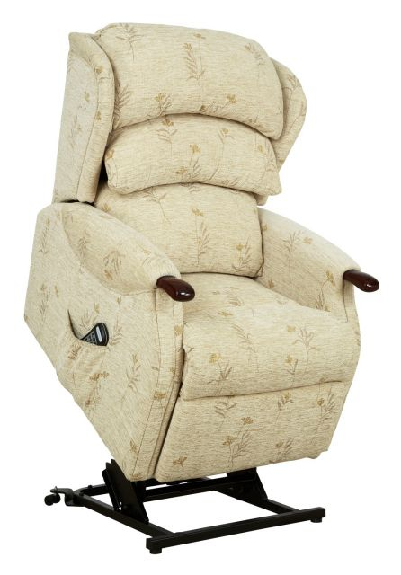 Westbury Petite Single Motor Lift Recliner Fabric