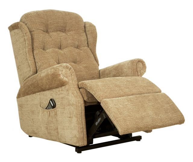 Woburn Compact Single Motor Recliner Fabric