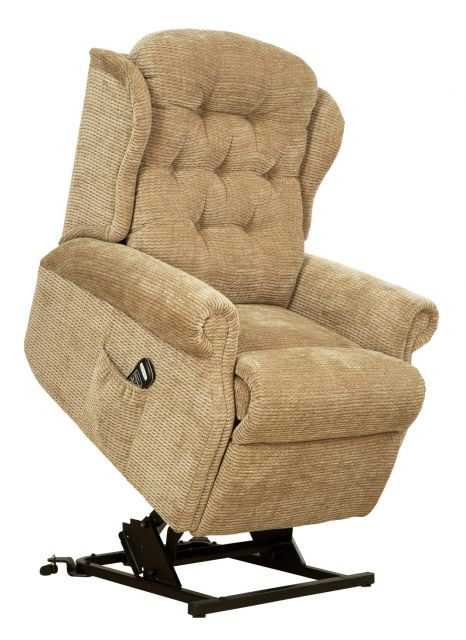Woburn Compact Single Motor Lift Recliner Fabric