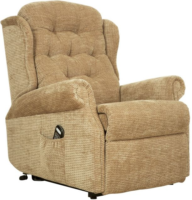 Woburn Petite Single Motor Lift Recliner Fabric