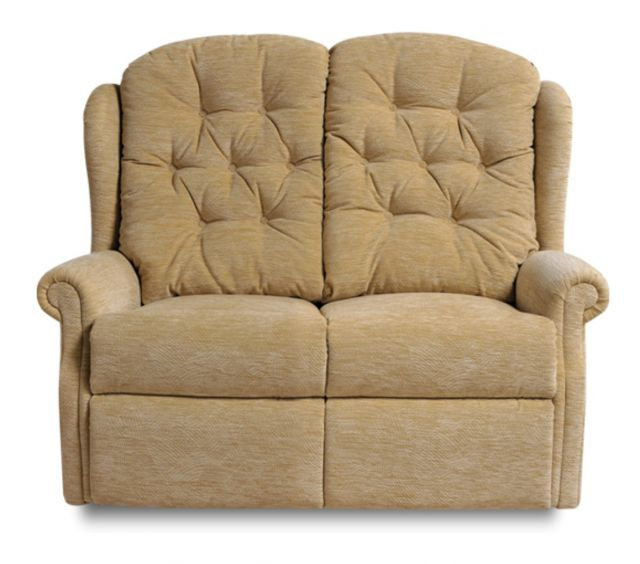 Woburn Single Motor Reclining 2 Seat Settee Fabric