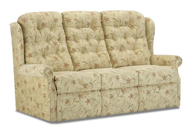 Woburn Manual Reclining 3 Seat Settee Fabric