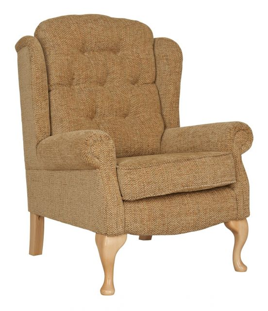 Woburn Petite Legged Fixed Chair Fabric