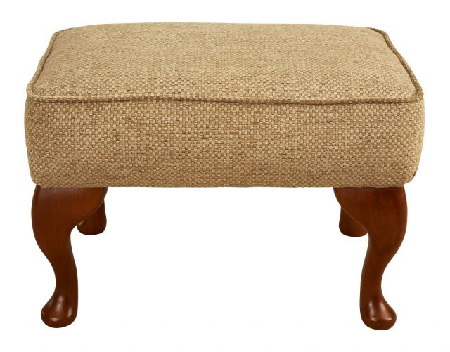 Woburn Legged Footstool Fabric