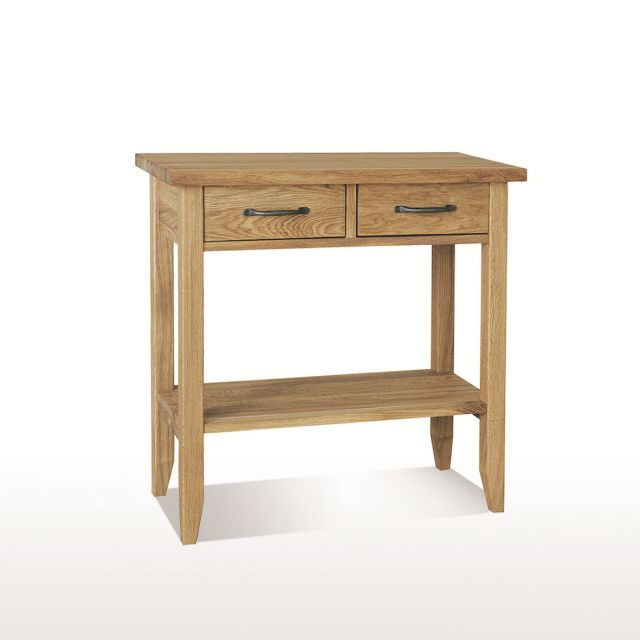 Windsor Dining Console table 2 drawers with shelf (W80xD35xH78)