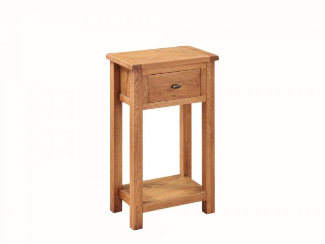 Essentials Country Oak Medium Hall Table
