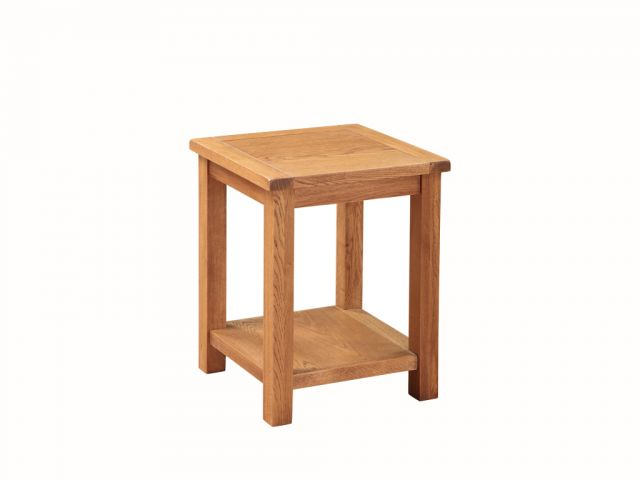 Essentials Country Oak End Table