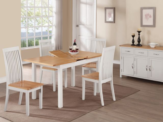 Essentials Painted 4' Dining Set
