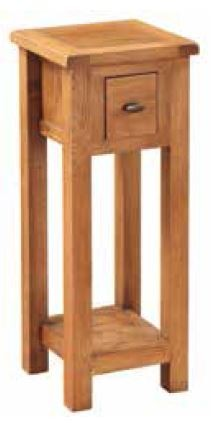 Essentials Country Oak Telephone Stand