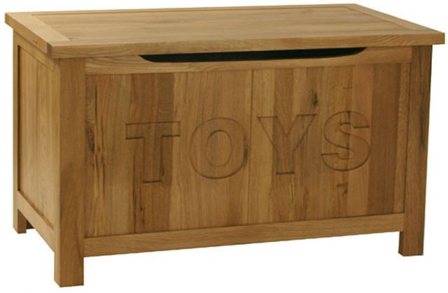 Oak Occassional Toy Box