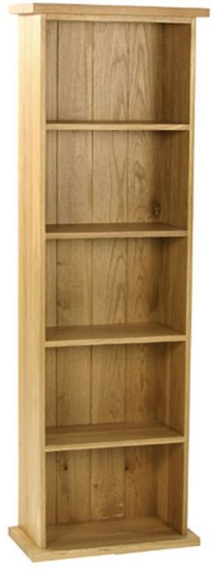 Oak Occassional Double Dvd Tower