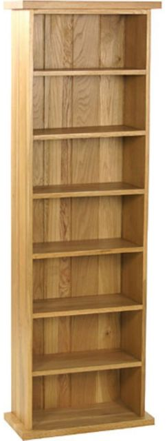 Oak Occassional Double Cd Tower