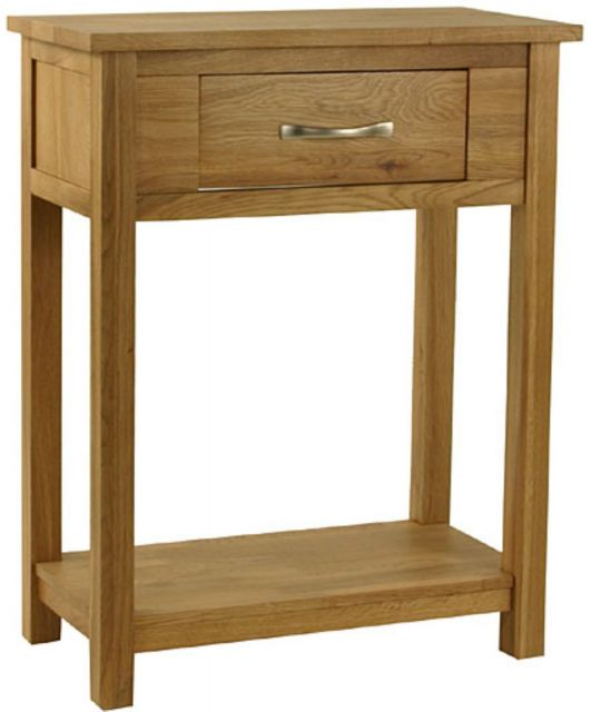 Oak Occassional Small Console Table