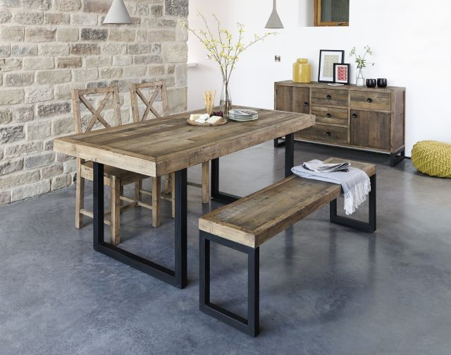 Hardwear - Fixed Top Dining Table