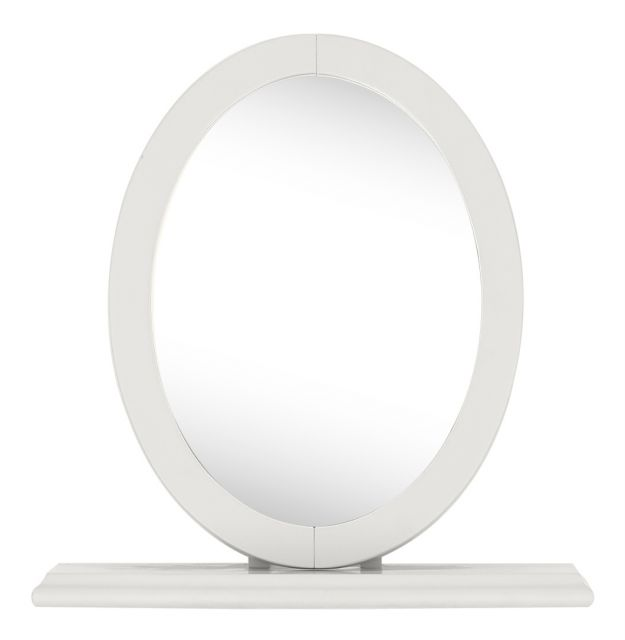 Chateau Two Tone - Vanity Mirror  Soft Grey Finish