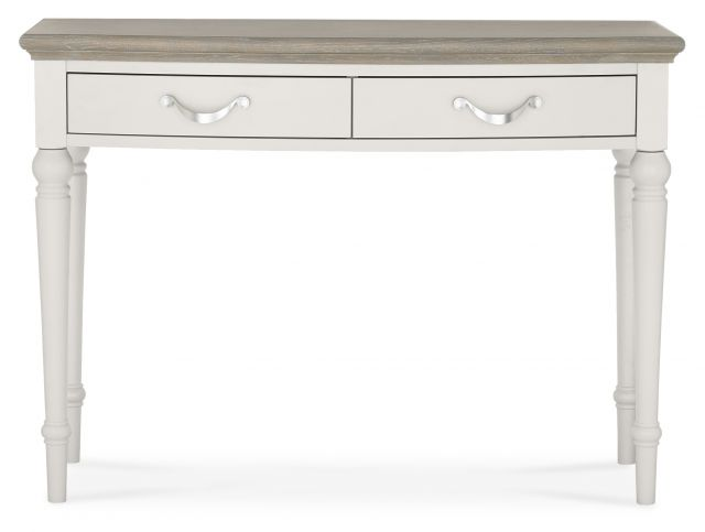 Chateau Two Tone - Dressing Table  Grey Washed Oak & Soft Grey Finish