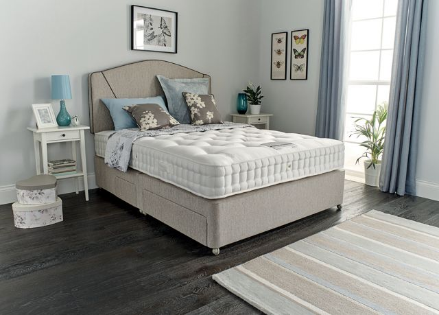 Heligan 7700 180cm Zip and Link Mattress Only