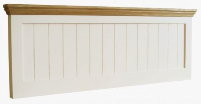 Coelo Oak Top Bedroom King Size Panel Headboard