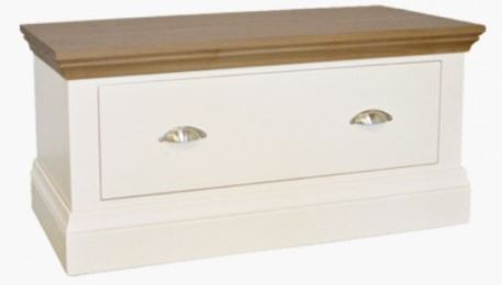Coelo Oak Top Bedroom Small Blanket Chest