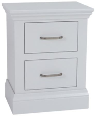 Coelo Full Painted Small 2 Drawer Bedside