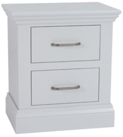 Coelo Full Painted Large 2 Drawer Bedside