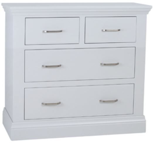 Coelo Full Painted 2+2 Chest of Drawers