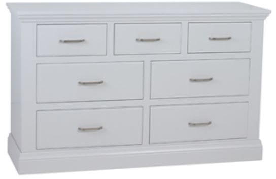 Coelo Full Painted 4+3 Chest of Drawers