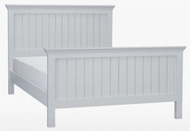 Coelo Full Painted Kingsize Panel Bed HFE
