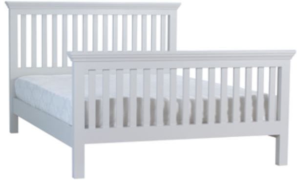 Coelo Full Painted Double Slat Bed HFE