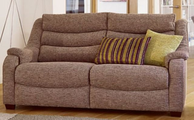 Denver Large 2 Seater Sofa A Fabric