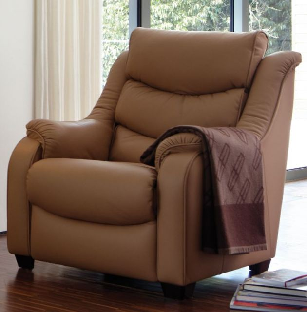 Denver Small Armchair Leather