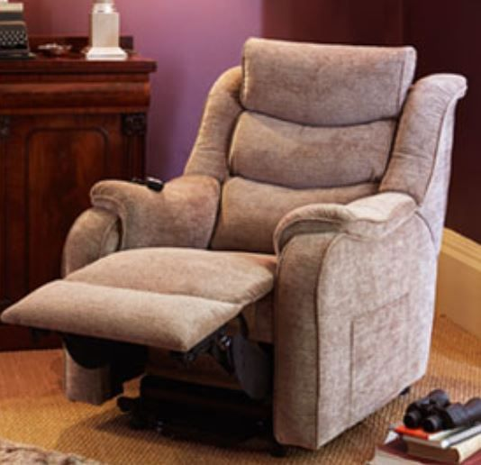Denver Armchair Rise/Recliner A Fabric
