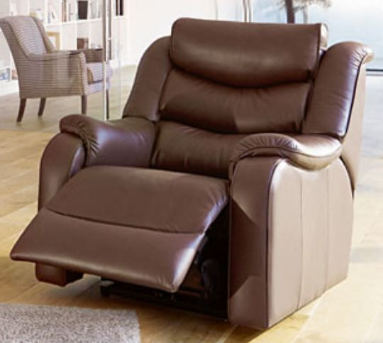 Denver Armchair P/Recliner Leather