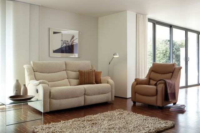 Denver Large 2 Seater Sofa Leather