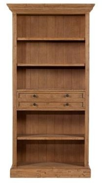 Georgian Tall Bookcase with drawer