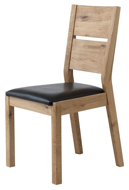 Loft Dining Chair (PU Brown Seat Pad)