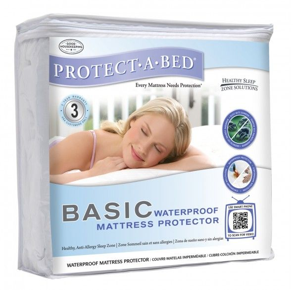Basic 135cm Double Mattress Protector
