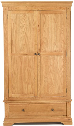 Knightsbridge - Double Wardrobe + Drawer